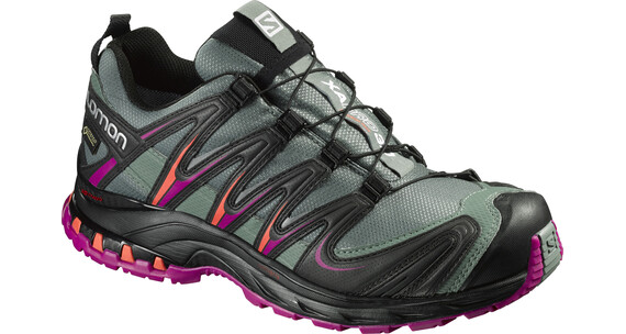 Salomon XA Pro 3D GTX Trailrunning Shoes Women light tt/black/coral punch